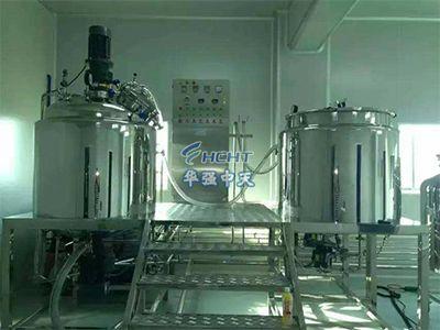 洗衣液生产线
